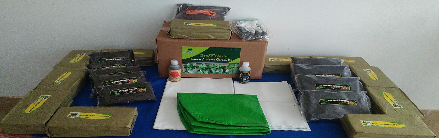 Terrace gardening pioneer agro industries green for Indoor gardening kit green toys